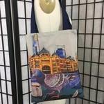 Flinders Street Station Pigeon Tote Bag