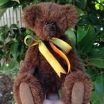 'Theo' -  an artisan mohair mini bear