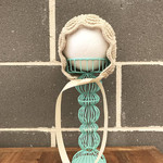 Knitted Baby Bonnet, Vintage Baby Bonnet, Christening Bonnet