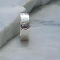 Textured Argentium Ring