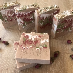 Rose & clay soap