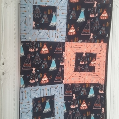 Baby cot quilt, baby quilt, baby quilts