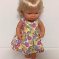 Miniland Dolls Easter Dress to fit 38 cm dolls