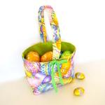 Easter basket, egg hunting bag