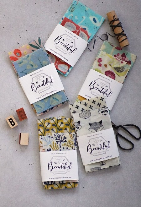 Share the Love Beeswax Wraps