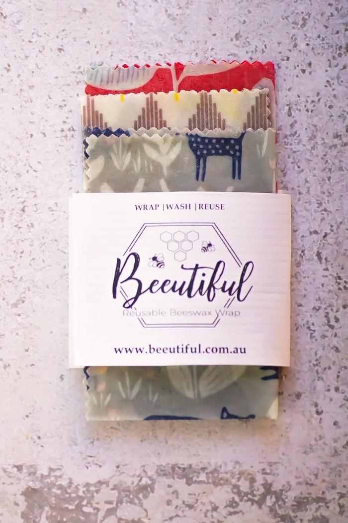 War on Waste Beeswax Wraps | Beeutiful Beeswax Wraps | madeit com au