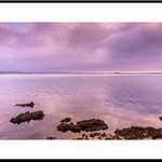 Violet Dawn Lake Macquarie Fine Art Photographic Print
