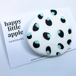 BRIDGET Mint Spot Brooch