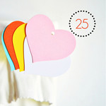 Pastel Heart Tags {25} Large | Blank Heart Tags | Merchandising Tags Labels