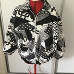 Black & White Patchwork Jacket