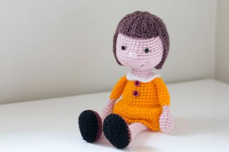 Crochet doll, Amigurumi, Handmade, Girl doll, Gift idea, Stuffed toy