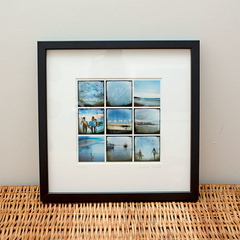 8x8 print - [Mon-08] - Images of Manly, manly wharf, surfers, beach