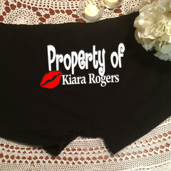 Property of Personalised Men's Boxer Briefs