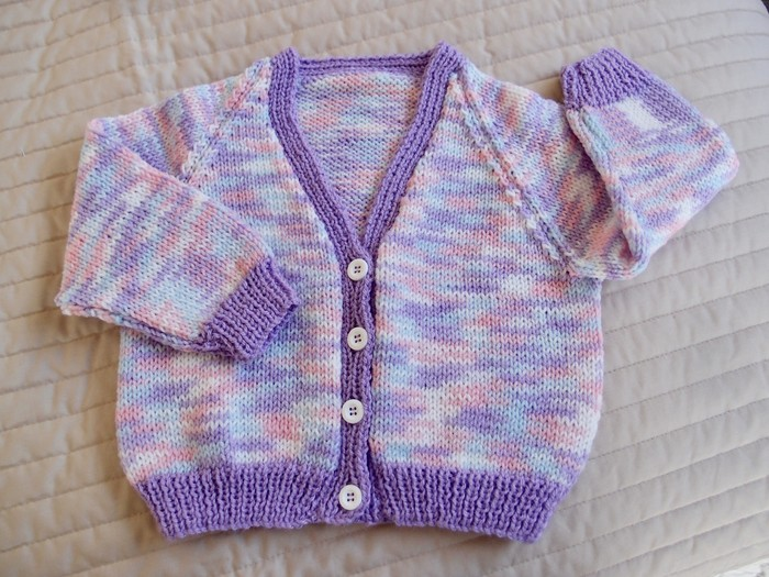 690bb1a28 SIZE 2-3 yrs Hand knitted cardigan   Acrylic