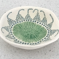 Ceramic Trinket Dish    earthenware clay   pottery    FREE POSTAGE