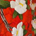 Tsubaki Vintage Kimono Quilt Patchwork Tapestry