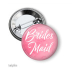 Hens party badge, add your text