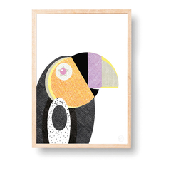 Happy Toucan | A3 Print
