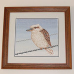 Kookaburra Counted Cross Stitch Pattern