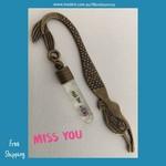 MISS YOU - mermaid bookmark