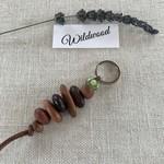 Nullabor Bead Key Ring - Green