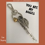 YOU ARE MY ANGEL - keyring/bagcharm