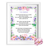 """""""The Swing"""" Poetry Printable"""