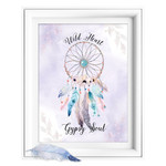 Wild Heart Dreamcatcher Quote Printable