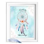 Courage Dreamcatcher Quote Printable
