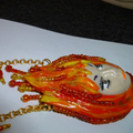 """""""Fire"""" necklace"""