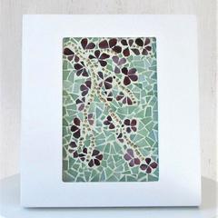 Framed  Floral Mosaic