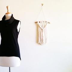 Cowl Neck Jersey Knit Top Black Knit Vest Cowl Neck Top Sleeveless Knit Top