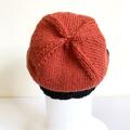 Two Colour Knit Wool Beanie