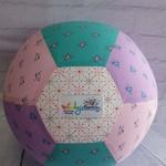 Balloon Ball: Mini Unicorns. Pink, Mauve, Teal.
