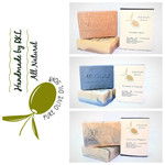 3x  Pure Olive Oil Soap- scented in box