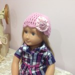 """Dolls Clothes 18"""" *Our Generation Doll * Crochet Beanie"""