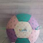 Balloon Ball: Mini Unicorns, Pink, Mauve, Teal. Taggie to match