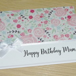 Happy Birthday Mum - pink roses