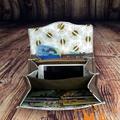 Vintage Surfing Adventure  Necessary Clutch Purse Wallet