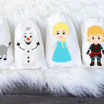 Frozen Birthday Party Favour Bags Qty 6 in A5 Size