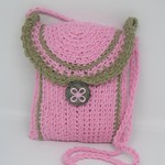 Easter Gift ~ Mother's Day Gift ~ Pink Crochet Bag ~ Pink Purse