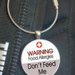 School Bag Tags, Medic Alert - Food Allergy