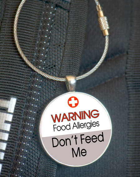School Bag Tags, Medic Alert - Food Allergy
