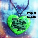 Beetlejuice Strange And Unusual Resin Necklace, Pastel Goth, Grunge, 90s