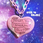 Dwight You Ignorant Slut Resin Necklace, The Office, Pastel Goth, Grunge, Tumblr