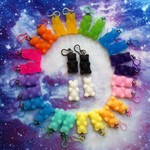 Resin Gummy Bear Earrings