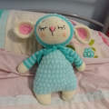Lamb, READY TO POST, Crochet Toy, Baby Gift, Baby Shower