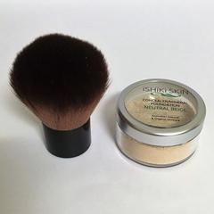 All Natural Mineral Makeup/Concealer Neutral Powder  + Kabuki brush
