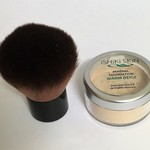 All Natural Mineral Makeup Powder for Light-Medium Neutral Skin + Kabuki brush