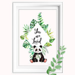 Panda You are Loved Printable